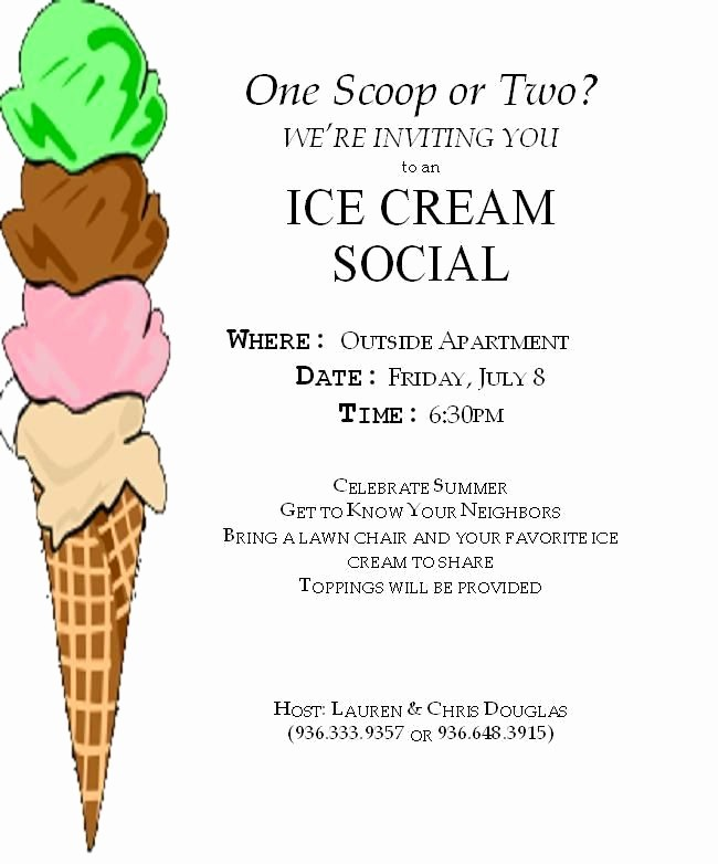 Free Ice Cream social Template Best Of 71 Best Coworker and Staff Stuff Images On Pinterest