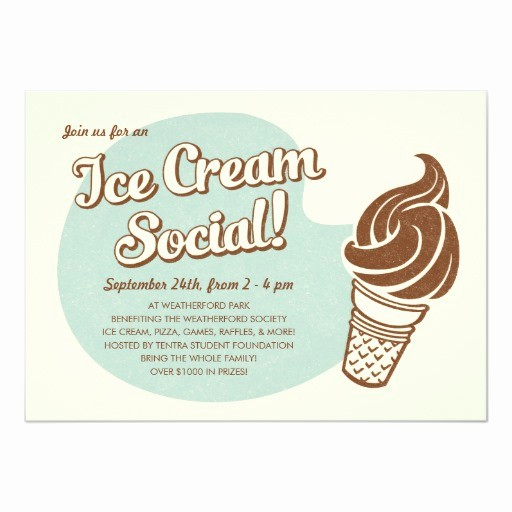 Free Ice Cream social Template Best Of Retro Style Ice Cream social Invitations