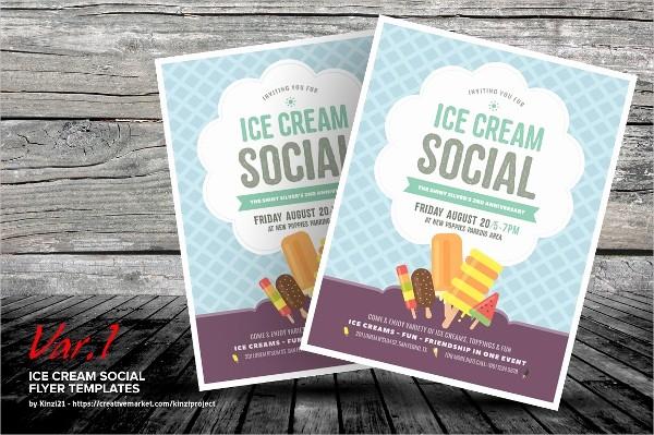 Free Ice Cream social Template Lovely 16 Ice Cream Flyer Templates Psd Ai Vector Eps