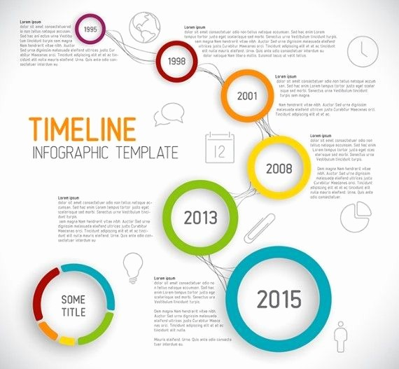 Free Infographic Templates for Word Elegant Creative Business Timeline Infographic Template Vector