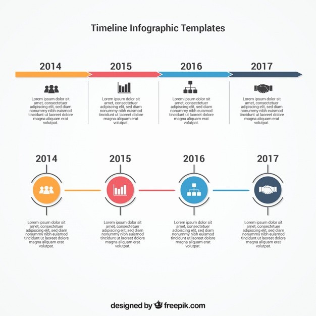 Free Infographic Templates for Word Lovely Infographic Timeline Template Vector