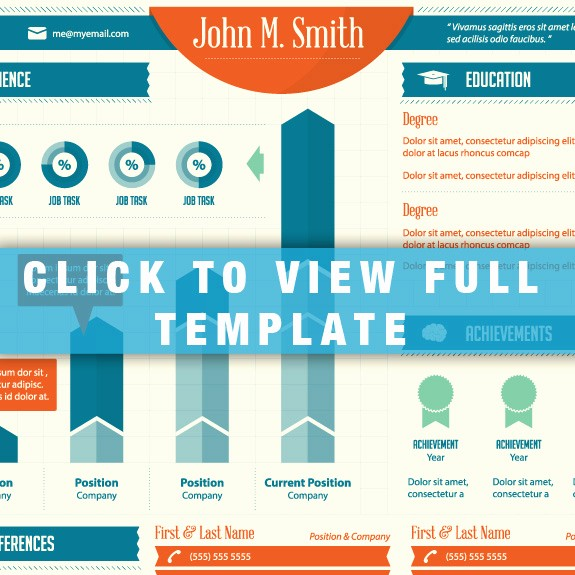 Free Infographic Templates for Word Luxury 14 Infographic Templates for Word Resume