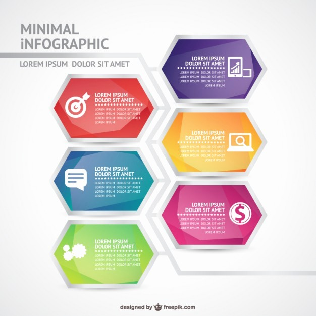 Free Infographic Templates for Word Unique Minimal Infographic Template Vector