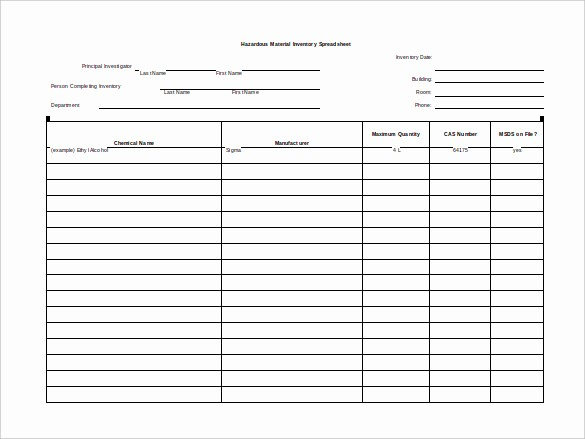 Free Inventory Sheets to Print Beautiful 12 Blank Spreadsheet Templates Pdf Doc Pages Excel