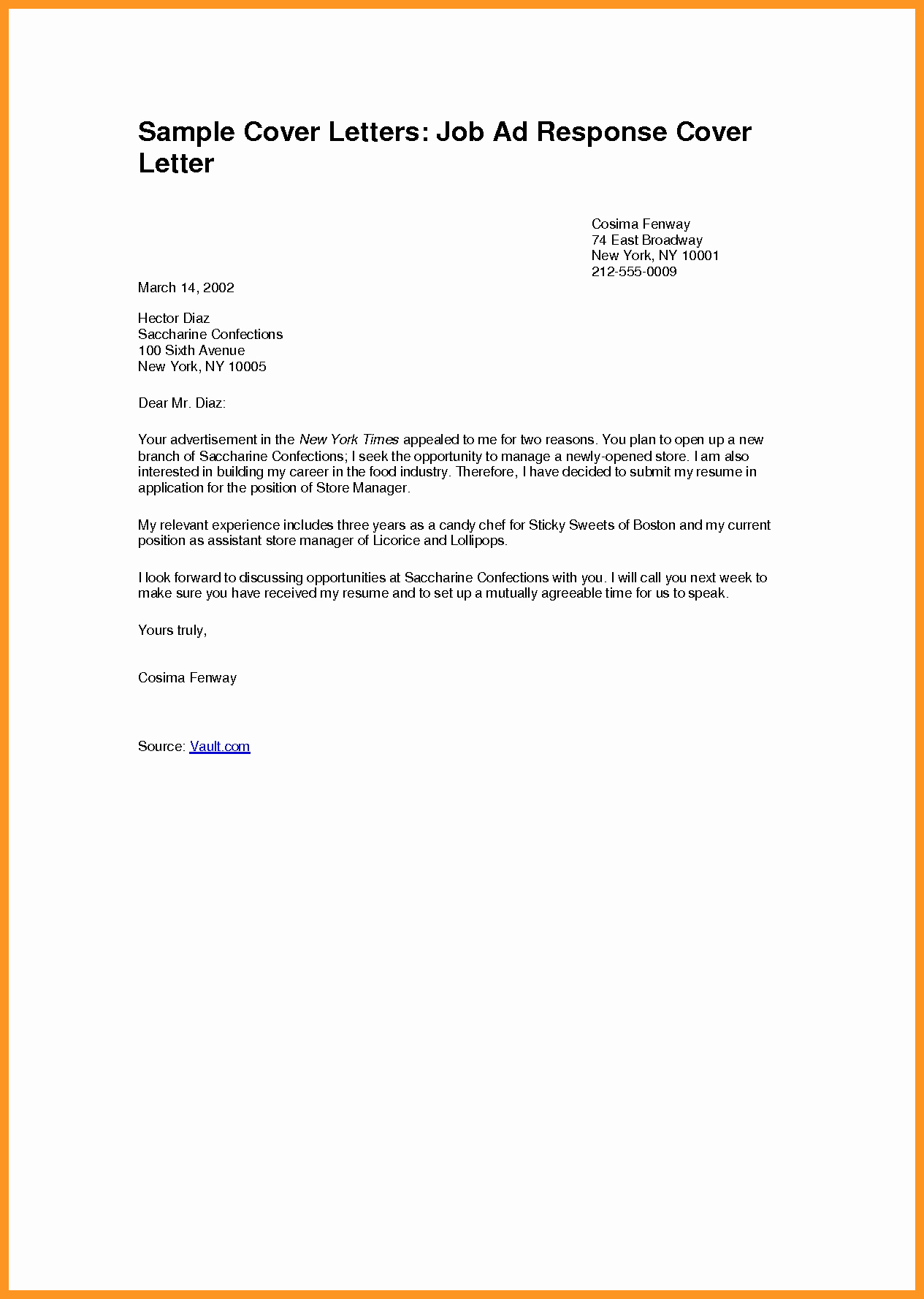 Free Job Cover Letter Template Fresh Cover Letter for Job Application Pdf