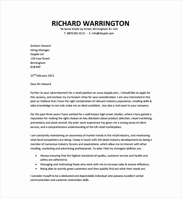 Free Job Cover Letter Template Luxury 51 Simple Cover Letter Templates Pdf Doc