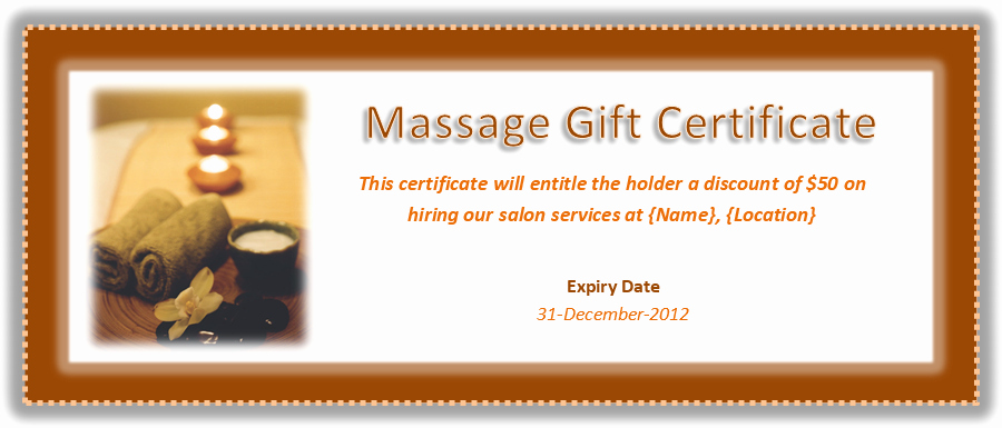 "Free Massage Gift Certificate Template Beautiful Search Results for ""free Christmas Gift Certificate"