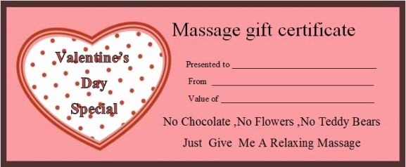 Free Massage Gift Certificate Template Best Of Massage Gift Certificate Template 14 Free Printable