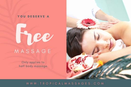 Free Massage Gift Certificate Template Elegant Customize 100 Massage Gift Certificate Templates Online