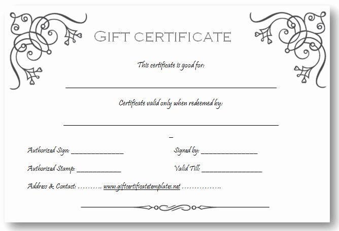 Free Massage Gift Certificate Template Fresh Art Business T Certificate Template