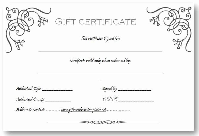 Free Massage Gift Certificate Template Inspirational Art Business T Certificate Template