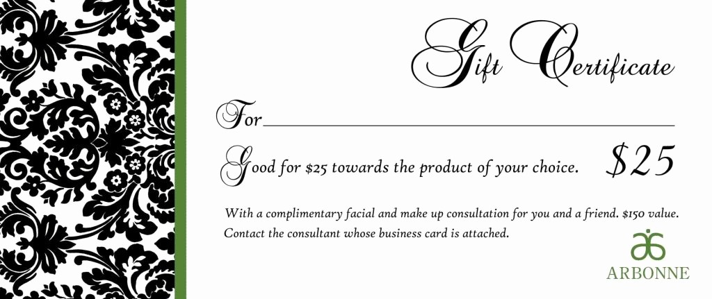 Free Massage Gift Certificate Template Luxury Free Printable Massage Gift Certificate Templates