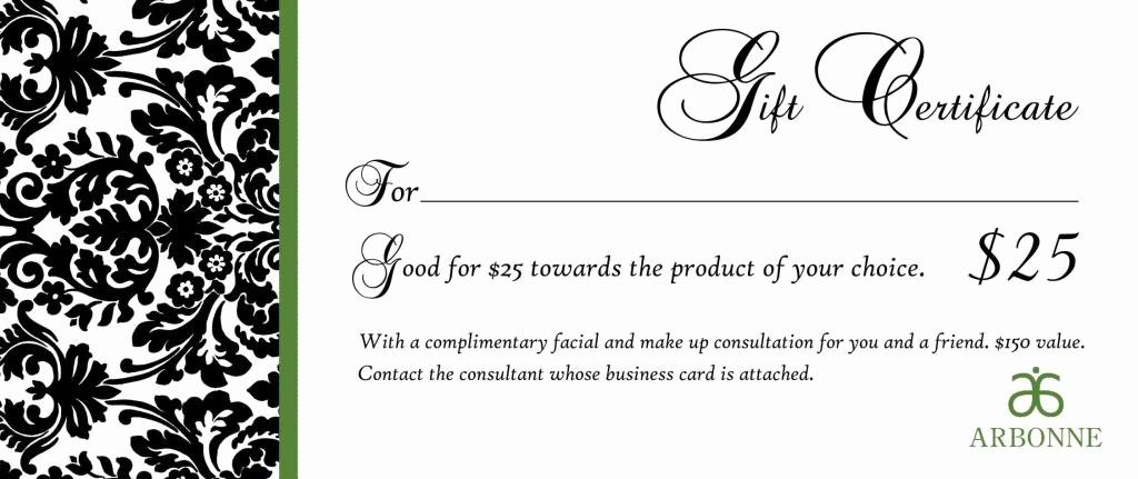 Free Massage Gift Certificate Template Luxury Free Printable Massage Gift Certificate Templates