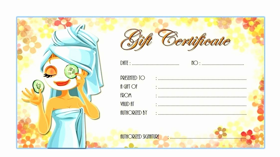 Free Massage Gift Certificate Template New Massage Certificate Template – Tailoredswift