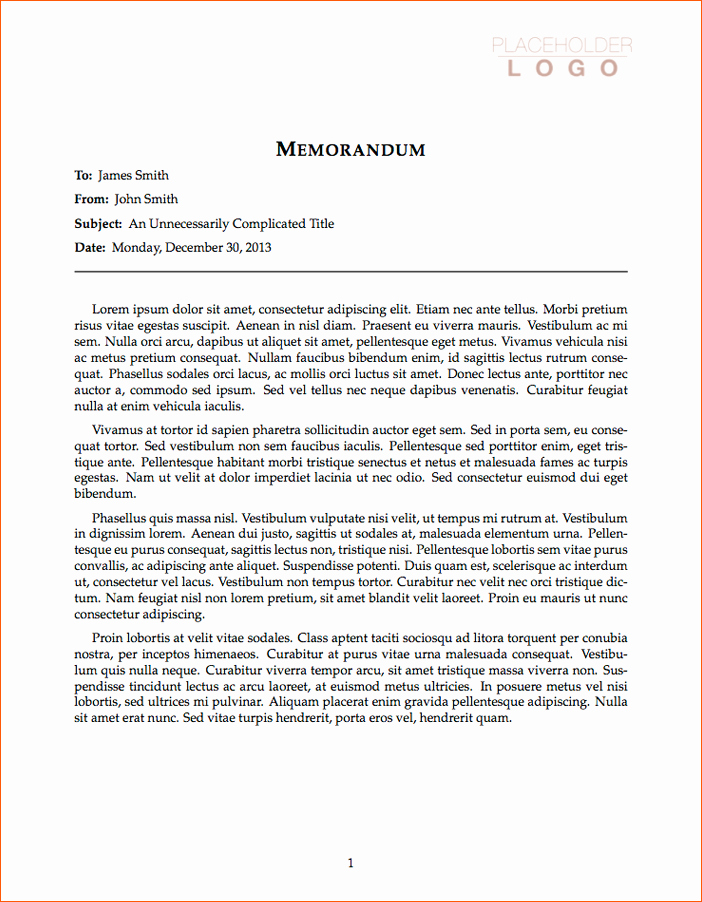 Free Memo Template for Word Fresh 12 Business Memo Template