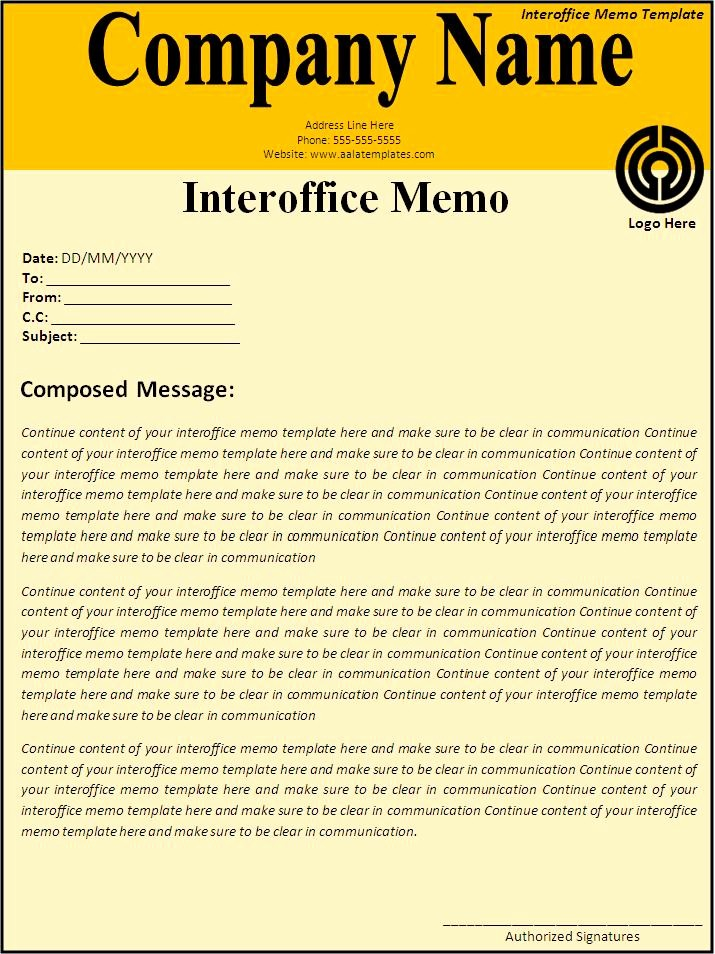 Free Memo Template for Word Fresh 5 Interoffice Memo Templates Excel Pdf formats