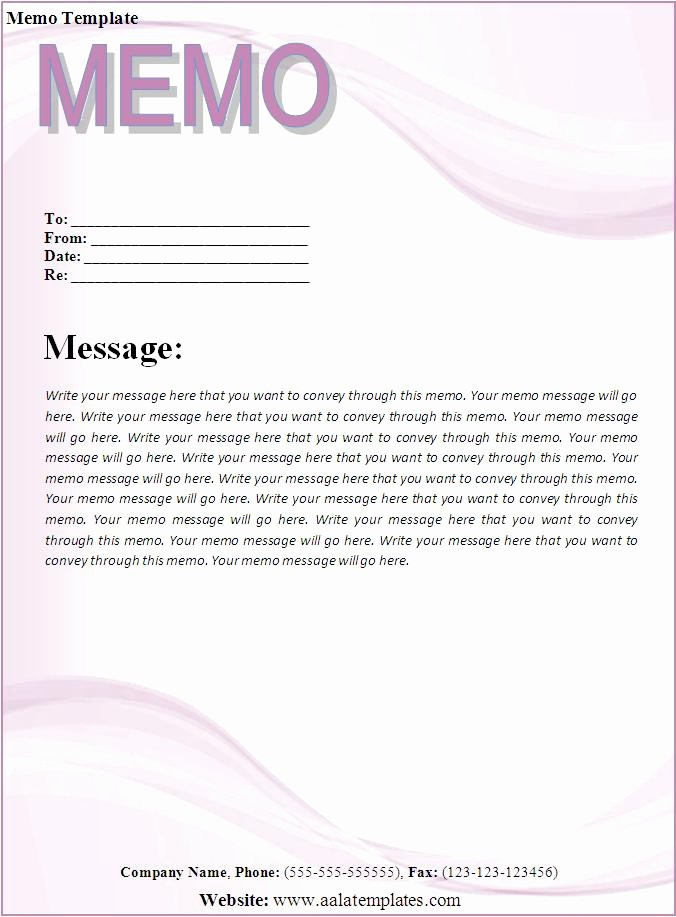 Free Memo Template for Word Lovely Memo Template Best Word Templates