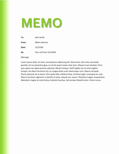 Free Memo Template for Word Lovely Memo Template Word