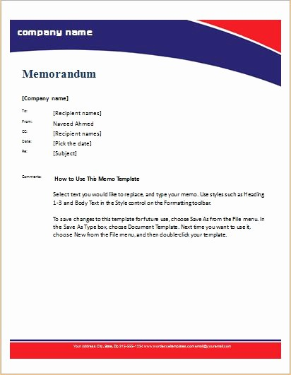 Free Memo Template for Word Unique 24 Free Editable Memo Templates for Ms Word