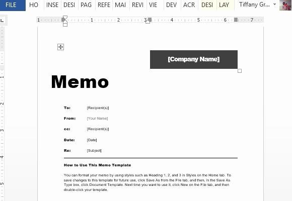 Free Memo Template for Word Unique Interoffice Memo Template for Word