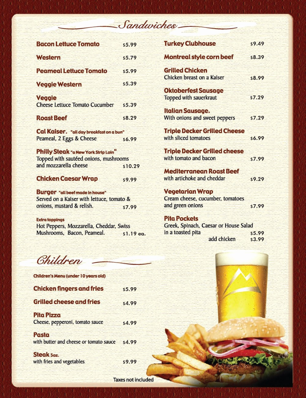 Free Menu Template Download Word Awesome 8 Menu Templates Excel Pdf formats