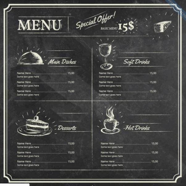 Free Menu Template Microsoft Word Best Of top 30 Free Restaurant Menu Psd Templates In 2018 Colorlib