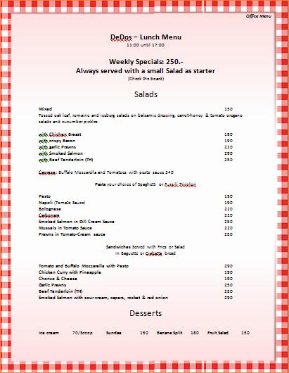 Free Menu Template Microsoft Word Elegant 7 Menu Templates for Microsoft Word