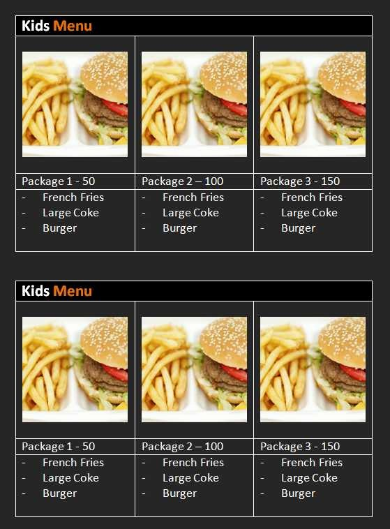 Free Menu Template Microsoft Word Lovely 15 Free Restaurant and Cafe Menu Templates for Word