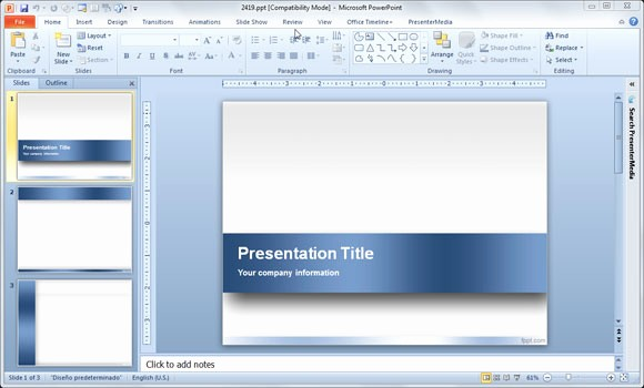 powerpoint template 2018 free