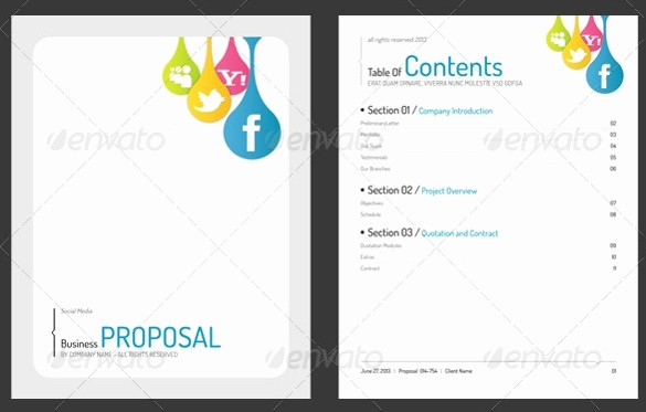 Free Microsoft Templates for Word Inspirational 31 Free Proposal Templates Word