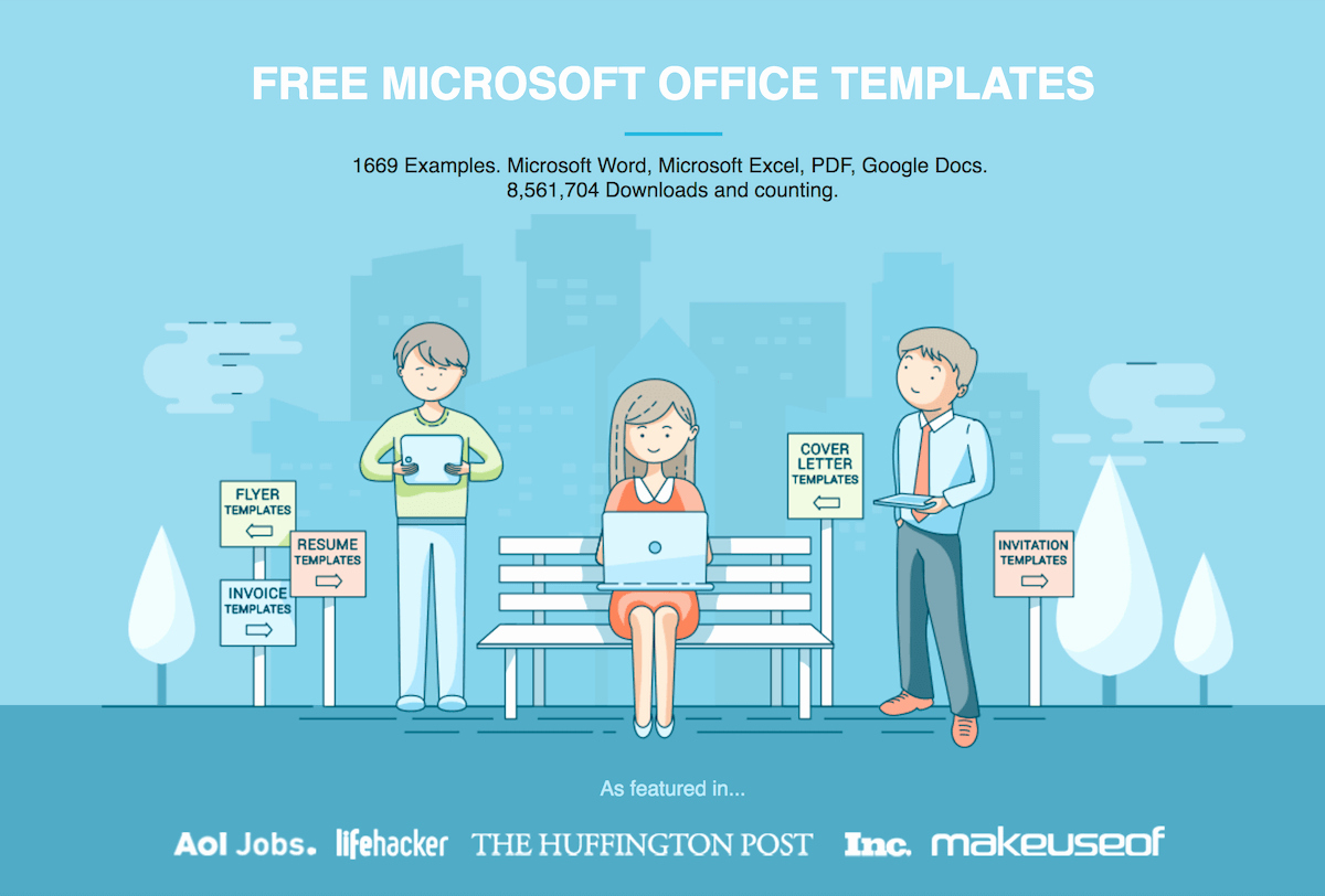 Free Microsoft Templates for Word Unique Free Microsoft Fice Templates by Hloom