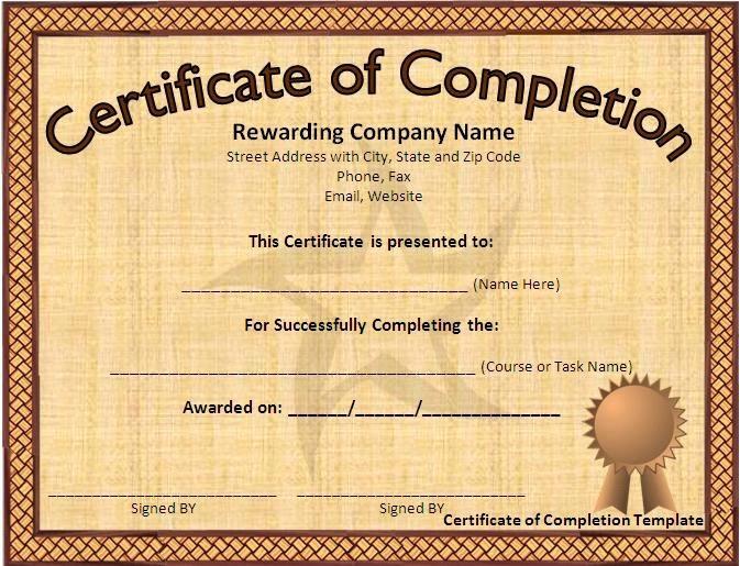 Free Microsoft Word Certificate Templates Best Of Award Certificate Template Microsoft Word