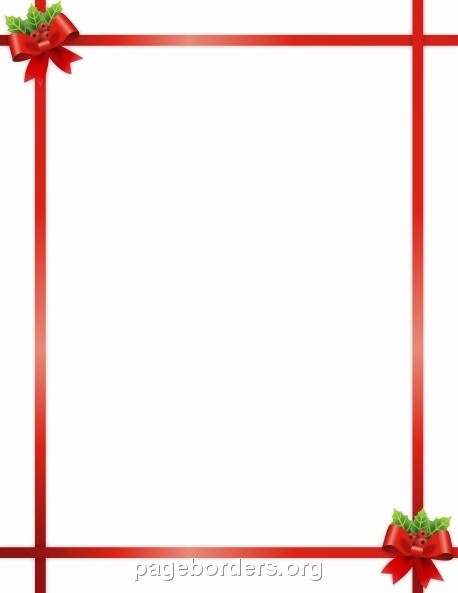 Free Microsoft Word Christmas Template Beautiful Christmas Border Templates for Microsoft Word