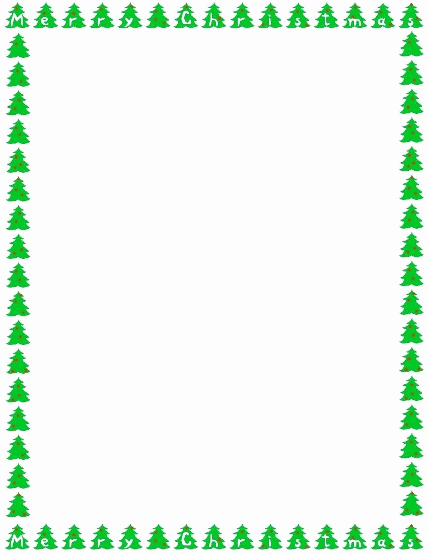 Free Microsoft Word Christmas Template Best Of Template Microsoft Word Borders Template