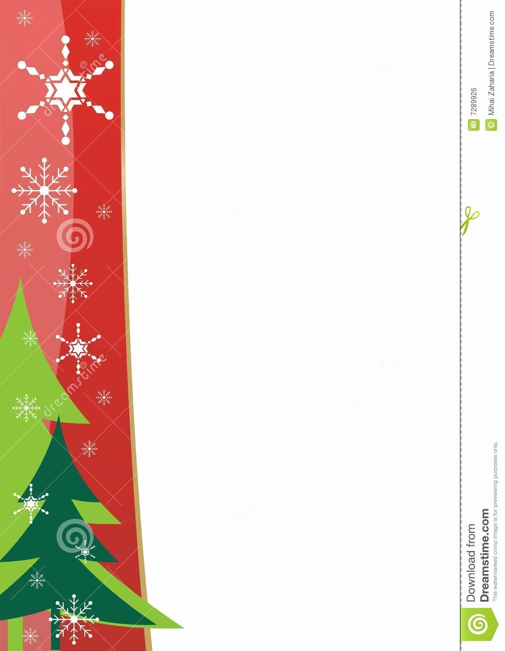 Free Microsoft Word Christmas Template Lovely Christmas Border Template Stock Vector Image Of Drawing