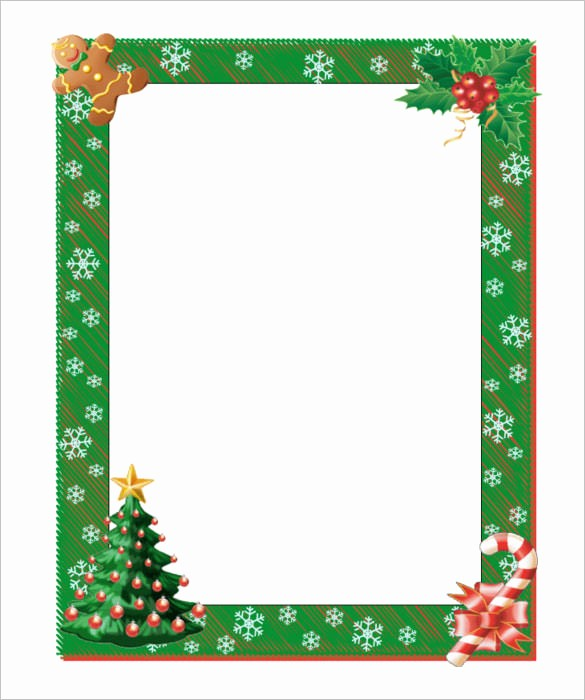 Free Microsoft Word Christmas Template Luxury 13 Christmas Paper Templates Free Word Pdf Jpeg