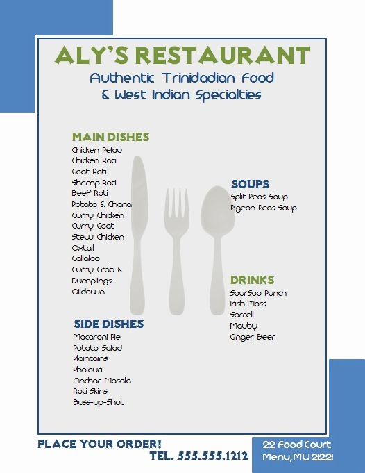 Free Microsoft Word Flyer Templates Awesome Free Template for A Restaurant Flyer Made with Microsoft