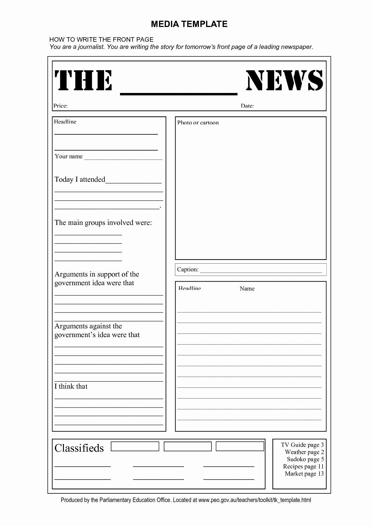 Free Microsoft Word Newspaper Template Awesome Blank Newspaper Template