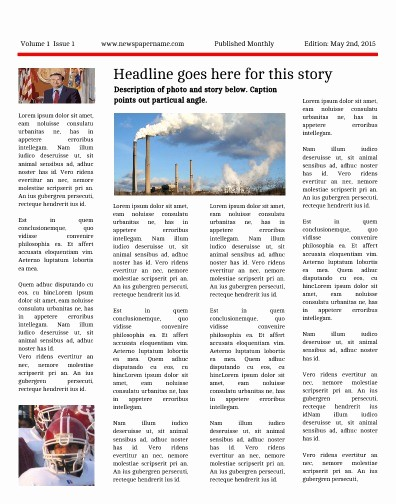 Free Microsoft Word Newspaper Template Awesome Newspaper Templates for Students