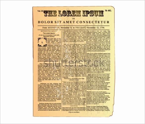 Free Microsoft Word Newspaper Template Best Of 20 Old Newspaper Templates Psd Jpg