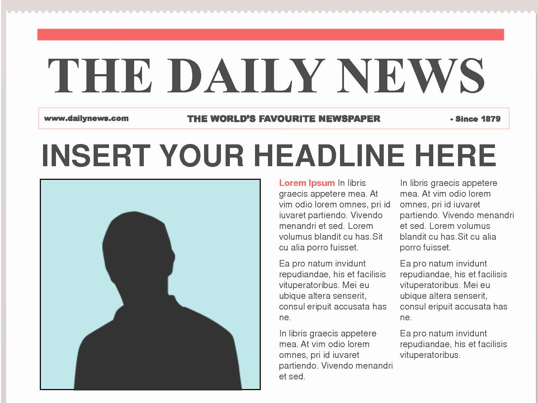 Free Microsoft Word Newspaper Template Best Of Free Newspaper Template