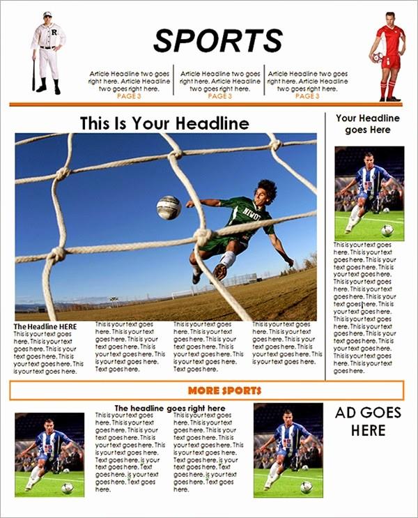 Free Microsoft Word Newspaper Template Elegant Best Newspaper Templates Free Download