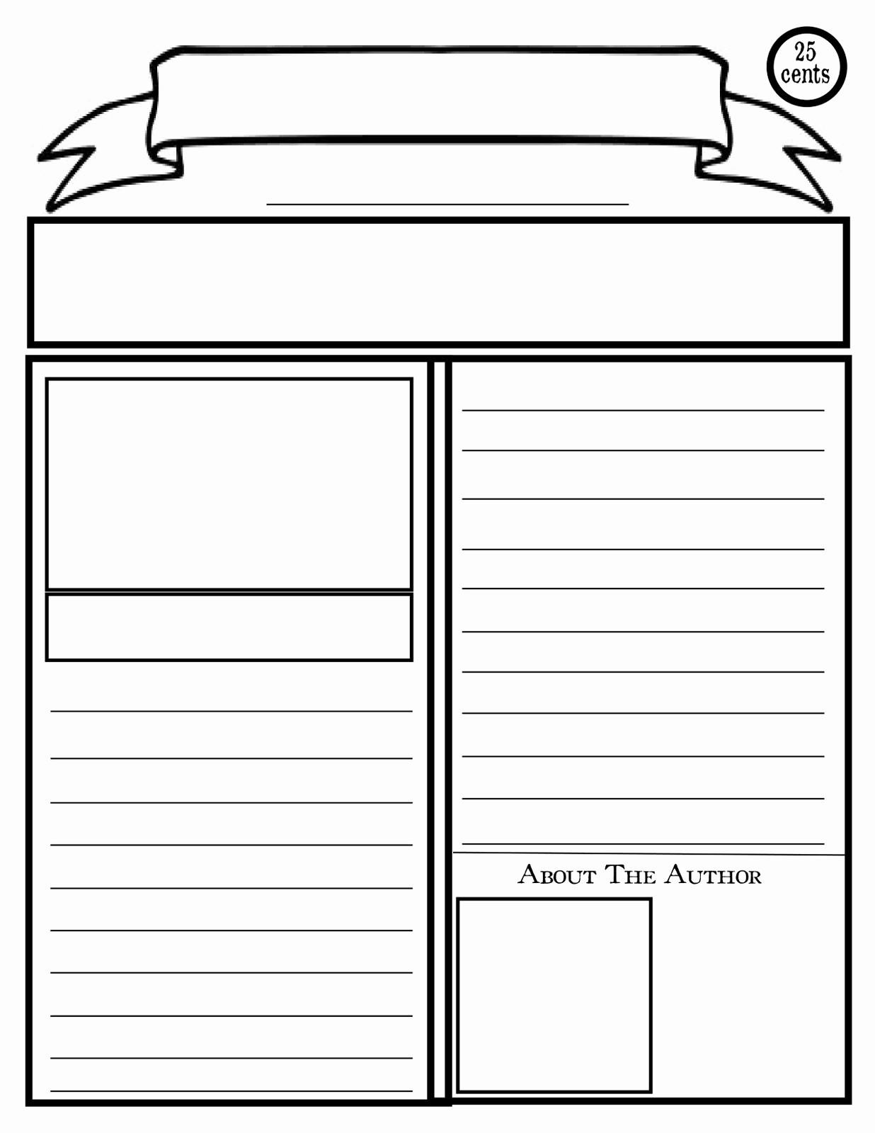 Free Microsoft Word Newspaper Template Inspirational Blank Newspaper Clipart