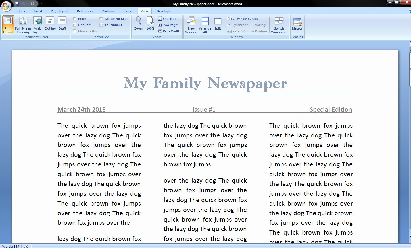 Free Microsoft Word Newspaper Template Lovely How to Make A Newspaper On Microsoft Word