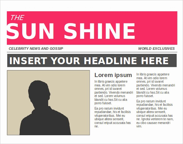 Free Microsoft Word Newspaper Template New 11 News Paper Templates Word Pdf Psd Ppt