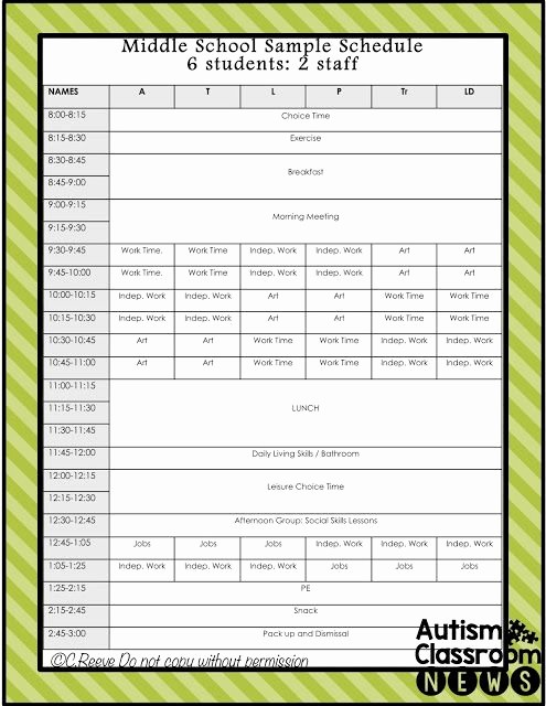 Free Middle School Schedule Maker Beautiful High School Schedule Examples Sample 4 Year Schedule