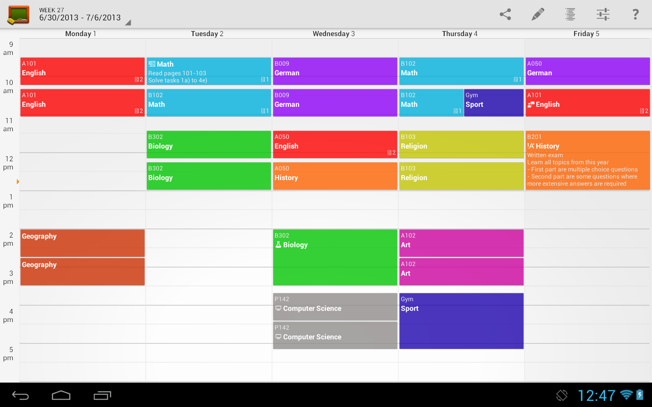 Free Middle School Schedule Maker Beautiful Secondary School Timetable