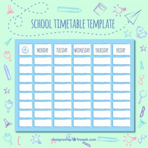 Free Middle School Schedule Maker Best Of Cute School Schedule Vector