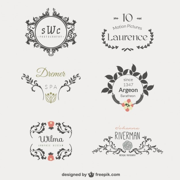Free Monogram Template for Word Best Of Business Logo Template Vector