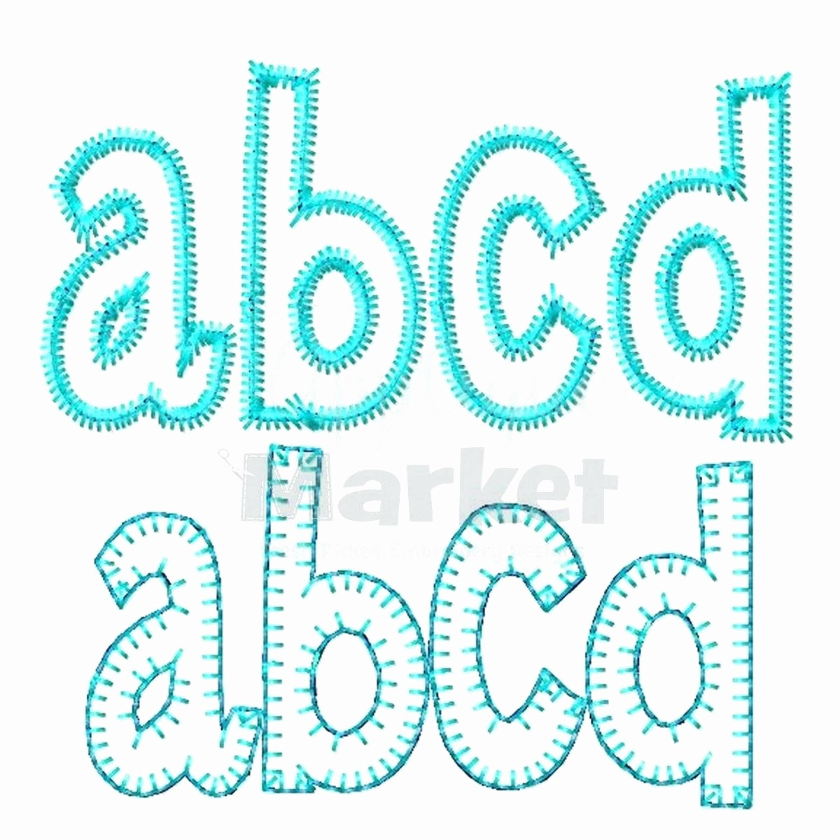 Free Monogram Template for Word Lovely Applique Alphabet Templates Choice Image Professional